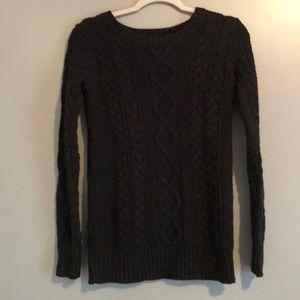 Aerie Black Sweater Small